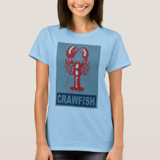 Crawfish Red and Blue T-Shirt