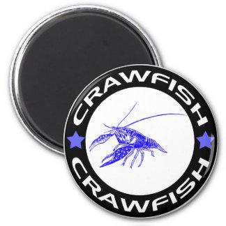 crawfish-ring (blue-1) magnet