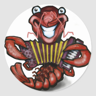 Crawfish Round Sticker