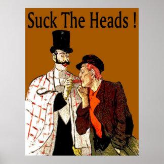 Crawfish: Suck The Heads! Poster