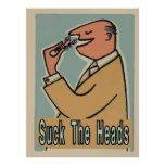 Crawfish: Suck The Heads Poster