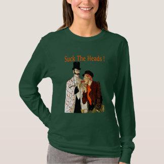 Crawfish: Suck The Heads! T-Shirt