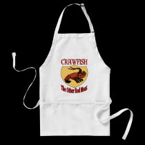 CRAWFISH: The Other Red Meat aprons