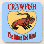 CRAWFISH: The Other Red Meat Beverage Coaster