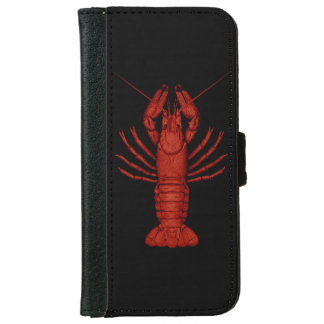 Crawfish Wallet Phone Case For iPhone 6/6s