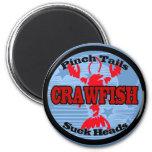 Crawfish Water Meter 2 Inch Round Magnet