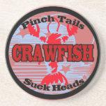 Crawfish Water Meter Drink Coaster