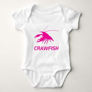 crawfish's silhouette (Pink) T-shirt