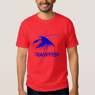 crawfish's silhouette (Red) T Shirt