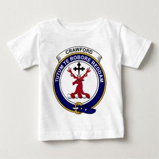Crawford Clan Badge Baby T-Shirt