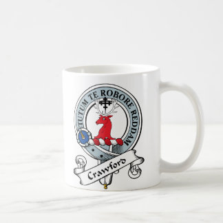 Crawford Clan Badge Coffee Mug