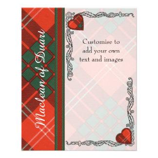 Crawford clan Plaid Scottish tartan Flyer