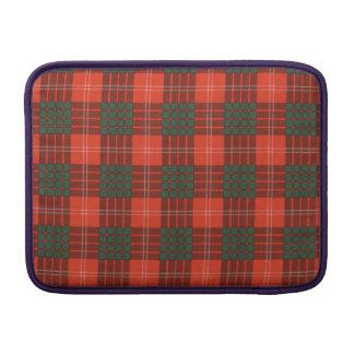 Crawford clan Plaid Scottish tartan Sleeves For MacBook Air