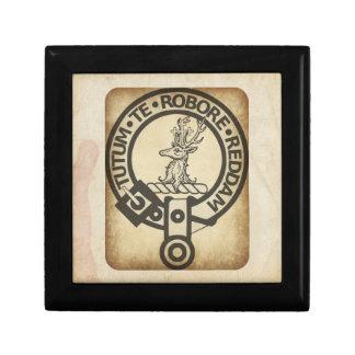 Crawford Crest Badge Antique Gift Box