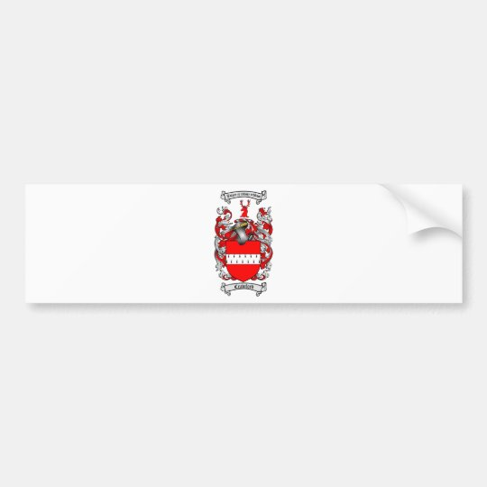 CRAWFORD FAMILY CREST -  CRAWFORD COAT OF ARMS BUMPER STICKER