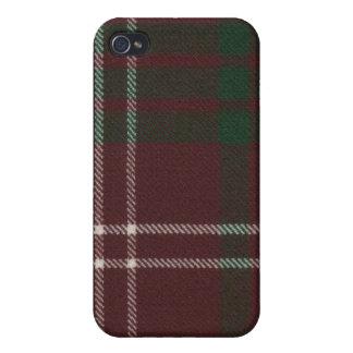 Crawford Modern Tartan iPhone 4 Case