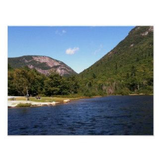 Crawford Notch Pond Poster