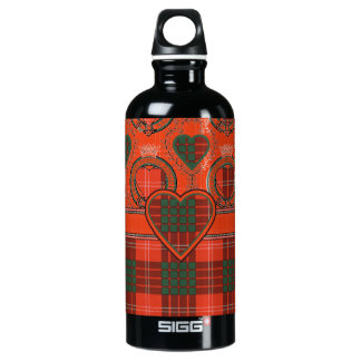 Crawford Scottish Tartan Aluminum Water Bottle