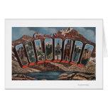 Crawford State Park, Colorado Greeting Card
