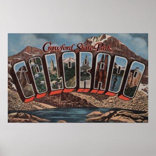 Crawford State Park, Colorado Poster