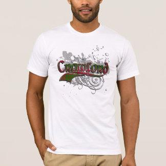 Crawford Tartan Grunge T-Shirt