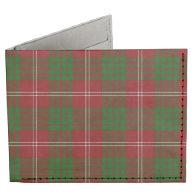 Crawford Tartan Plaid Tyvek® Billfold Wallet