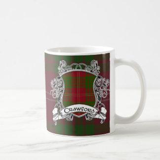 Crawford Tartan Shield Coffee Mug