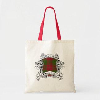 Crawford Tartan Shield Tote Bag