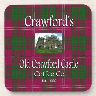 Crawford's Old Crawford Castle Coffee Co. Coaster