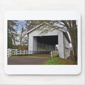Crawfordsville Covered Bridge Mouse Pad