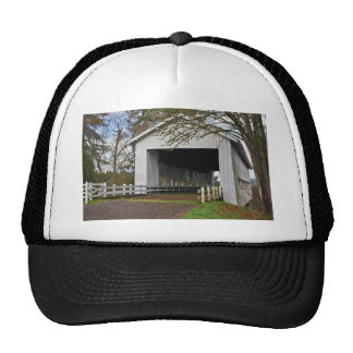 Crawfordsville Covered Bridge Trucker Hat