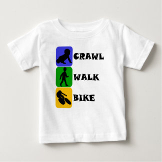 Crawl Walk Bike Baby T-Shirt
