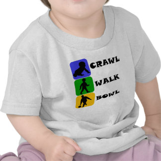 Crawl Walk Bowl T-shirt