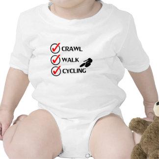 Crawl Walk Cycling Bodysuit