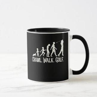 Crawl Walk Golf Mug