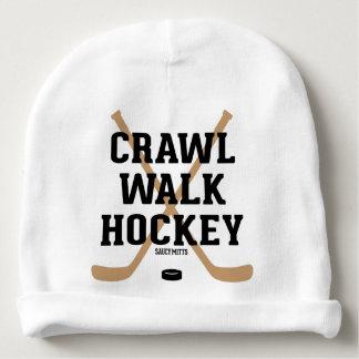 Crawl Walk Hockey Cute Baby Infant Baby Beanie