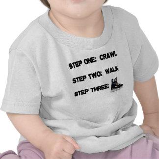 Crawl Walk HOCKEY T Shirts