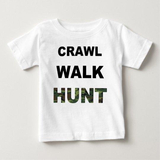 crawl walk hunt baby T-Shirt