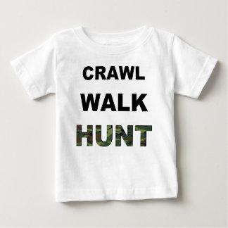 crawl walk hunt tee shirts