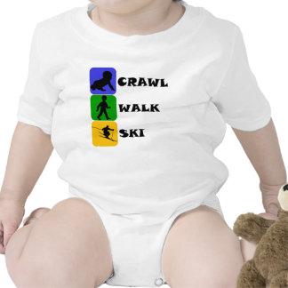 Crawl Walk Ski T-shirt