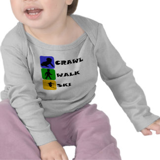 Crawl Walk Ski T Shirt