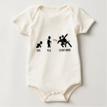 Crawl. Walk. Ultimate Frisbee Baby Bodysuit