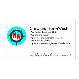 Crawlers Northwest Business Card