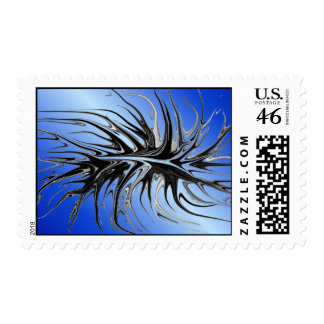 Crawling - Blue Postage Stamps