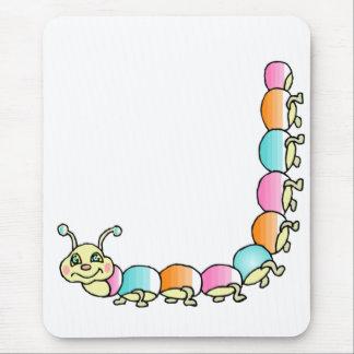 Crawling Caterpillar Mousepad