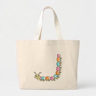 Crawling Caterpillar Tote Bag