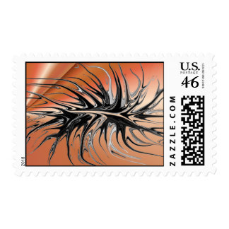 Crawling - Copper Postage Stamps