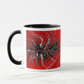 Crawling - red mug