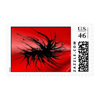 Crawling - red stamps
