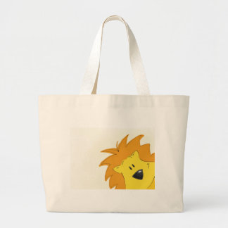 Crawling Through the Jungle Lally the Lion Canvas Bags